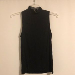 H&M mock sleeveless turtleneck